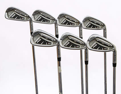 Ping I20 Iron Set 4-PW Ping CFS Steel Stiff Right Handed Black Dot 38 in