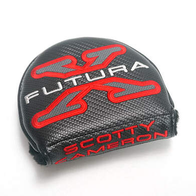 Titleist Scotty Cameron Futura X7 Putter Left Hand Headcover Head Cover Golf