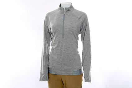 New Womens Adidas Golf Rangewear1/2 Zip Pullover X-Large XL Gray MSRP $70