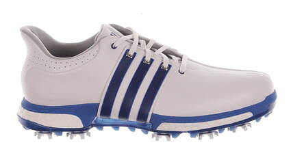 New Mens Golf Shoes Adidas Tour 360 Boost Medium 9 White MSRP $200 F33252