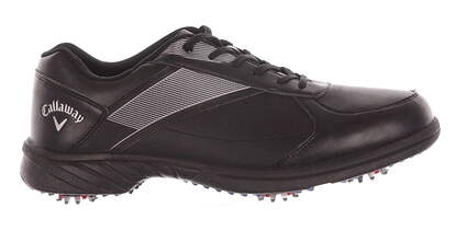 New Mens Golf Shoe Callaway Chev Lite Medium 9 Black MSRP $80 M234