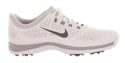 New Womens Golf Shoe Nike Lunar Empress Medium 9.5 White MSRP $130 628537