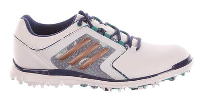New Womens Golf Shoes Adidas Adistar Tour Medium 8 White MSRP $120 F33489