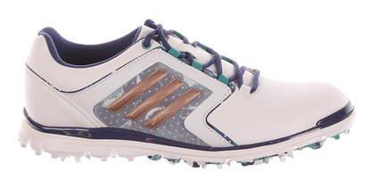 New Womens Golf Shoes Adidas Adistar Tour Medium 7.5 White MSRP $120 F33489