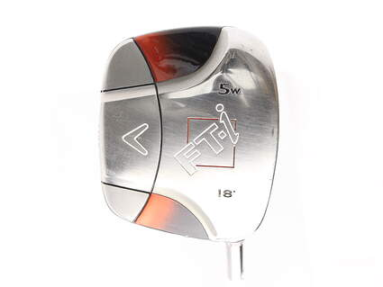 Callaway FT-i Squareway Fairway Wood 5 Wood 5W 18* Callaway Fujikura Fit-On M FW Graphite Regular Right Handed 42.75 in