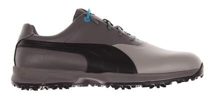 New Mens Golf Shoes Puma Ace Medium 10 Limestone Gray/Black/Steel Gray 188658-03 MSRP $100
