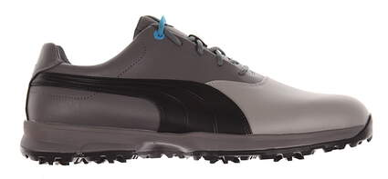New Mens Golf Shoes Puma Ace Medium 11.5 Limestone Gray/Black/Steel Gray 188658-03 MSRP $120