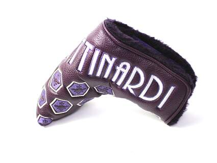 New Bettinardi 2012 Queen B 2 Purple Blade Putter Velcro Headcover Head Cover Golf