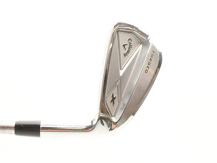 Callaway X Forged Single Iron 6 Iron Project X Pxi 5.5 Steel Regular Right Handed 38.5 in