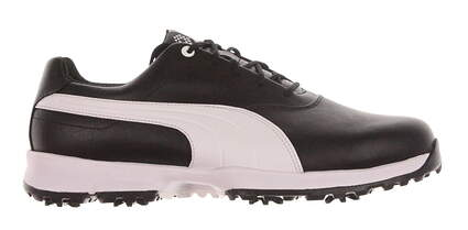 New Mens Golf Shoe Puma Ace Wide 11.5 Black/White MSRP $100