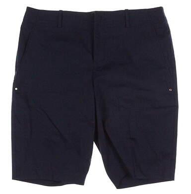 New Womens Ralph Lauren Golf Shorts Size 10 Navy Blue MSRP $98