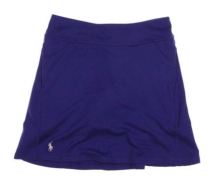 New Womens Ralph Lauren Golf Skort Size Small S Blue MSRP $125