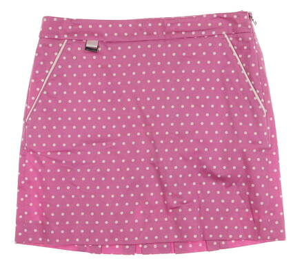 New Womens Ralph Lauren Golf Skort Size 0 Pink MSRP $145