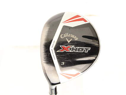 Callaway 2013 X Hot Fairway Wood 3 Wood 3W Project X PXv Graphite Stiff Left Handed 43.5 in