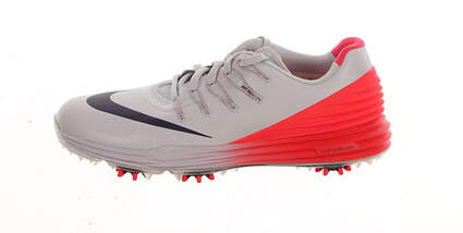 New Womens Golf Shoe Nike Lunar Control 4 7 White/Red MSRP $170 819034