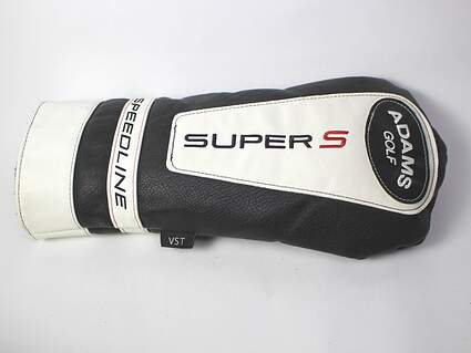 Adams Speedline Super S Men's Driver Headcover Black Red & White Golf