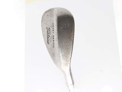 Tour Issue Titleist Vokey Tour Chrome Wedge Lob LW 60* 8 Deg Bounce Steel Wedge Flex Right Handed 35.25 in Mark O'Meara