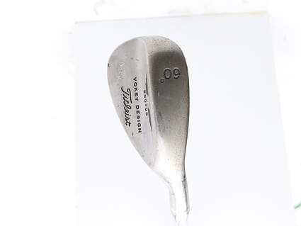 "Tour Issue Titleist Vokey Tour Chrome Wedge Lob LW 60* 8 Deg Bounce Steel Wedge Flex Right Handed 35 in Mark O'Meara ""MARK"""