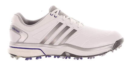 New Womens Golf Shoes Adidas Adipower Boost Medium 8.5 White MSRP $160 Q47016