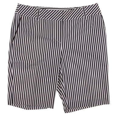 New Womens Cutter & Buck Annika Stripe Play Shorts Size 6 Multi MSRP $90