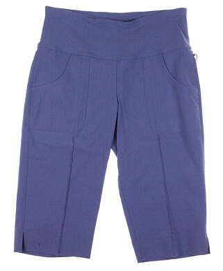 New Womens Jo Fit Golf Lightweight Slimmer Knee Shorts Size X-Small XS French Blue MSRP $94