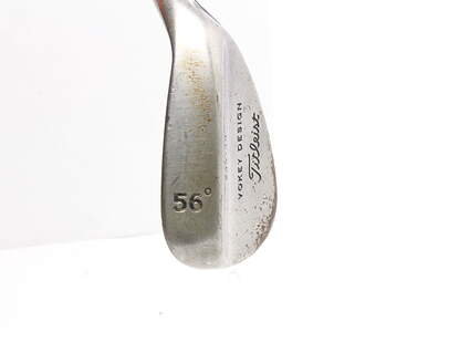 Tour Issue Titleist Vokey Raw Wedge Sand SW 56* 10 Deg Bounce Steel Stiff Right Handed 35.25 in Mark O'Meara