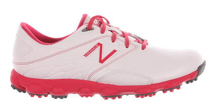 New Womens Golf Shoe New Balance Minimus LX Medium 7 White/Pink MSRP $109