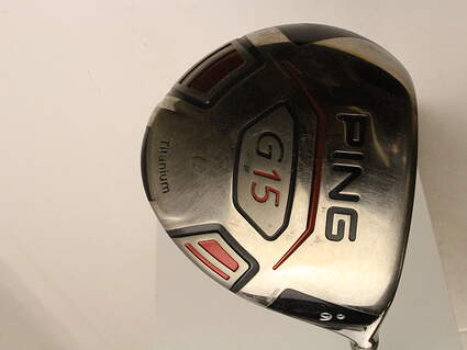 Ping G15 Driver 9* Ping TFC 149D Graphite Stiff Right Handed 45.5 in