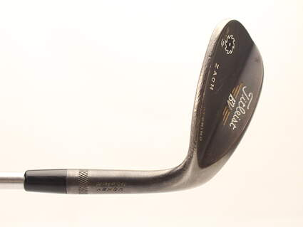 Titleist Vokey SM5 Raw Black Wedge Lob LW 58* 8 Deg Bounce M Grind FST KBS Tour C-Taper Steel Stiff Right Handed 35 in