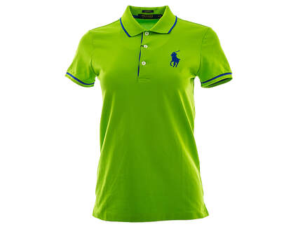 New Womens Ralph Lauren Golf Polo X-Small XS Green MSRP $95