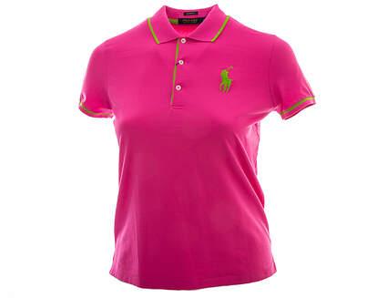 New Womens Ralph Lauren Golf Polo X-Small XS Pink MSRP $95