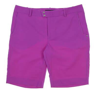 New Womens Ralph Lauren RLX Golf Shorts Size 6 Purple MSRP $125