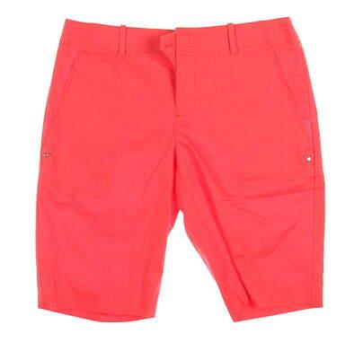 New Womens Ralph Lauren Golf Shorts Size 4 Orange MSRP $98