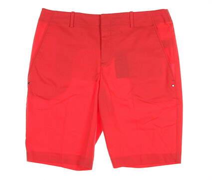 New Womens Ralph Lauren Golf Shorts Size 10 Orange MSRP $98