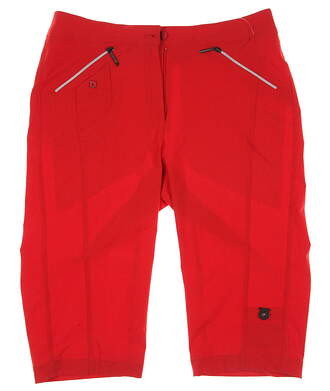 New Womens Jamie Sadock Airwear Light Weight 24 in. Knee Capri Shorts Size 2 Orange MSRP $110 51345