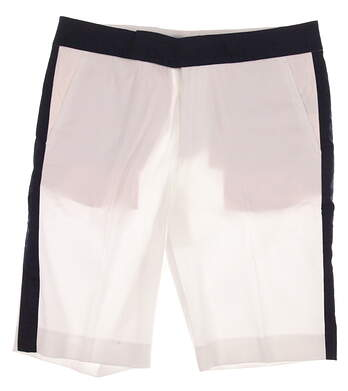 New Womens Ralph Lauren Polo Golf Shorts Size 8 White MSRP $125 281607849001