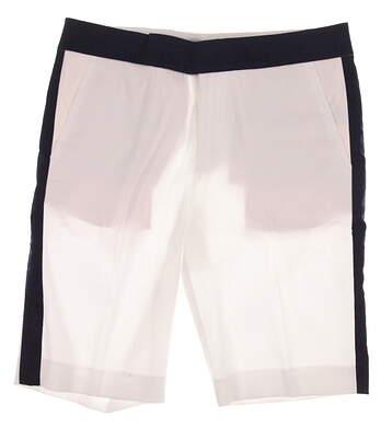 New Womens Ralph Lauren Polo Golf Shorts Size 12 White MSRP $126 281607849001