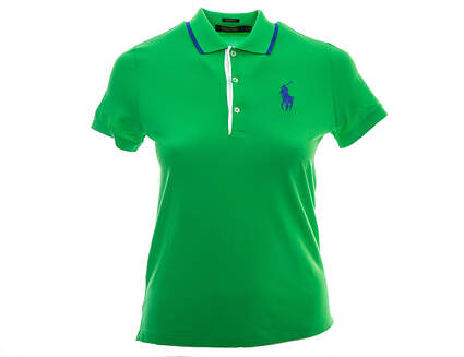 New Womens Ralph Lauren Golf Tailored Golf-Fit Polo Small S Green MSRP $98