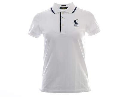 New Womens Ralph Lauren Golf Polo X-Small XS White MSRP $98
