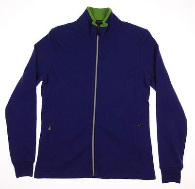 New Womens Ralph Lauren Polo Golf Full Zip Sweatshirt X-Small XS Blue MSRP $125 281594914004