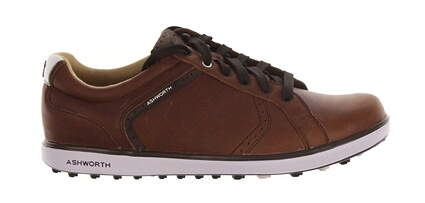New Mens Golf Shoes Ashworth Cardiff ADC 2 Medium 12 Brown MSRP $100 G54366