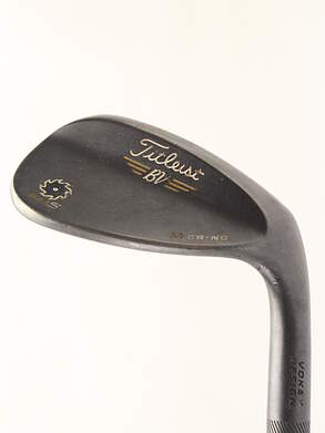 Titleist Vokey SM5 Raw Black Wedge Sand SW 56* 10 Deg Bounce M Grind FST KBS Tour Steel Stiff Right Handed 35.5 in