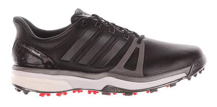 New Mens Golf Shoes Adidas Adipower Boost 2 Medium 8.5 Black MSRP $150 Q44660