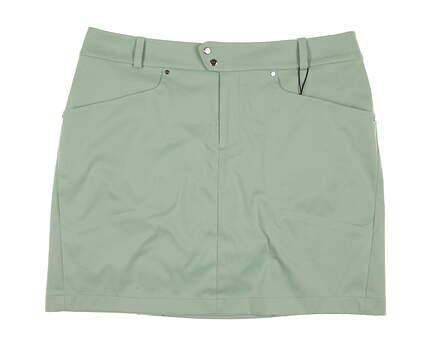 New Womens Ralph Lauren RLX Golf Skort Size 10 Green MSRP $135