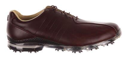 New Mens Golf Shoes Adidas Adipure TP Medium 10.5 Brown MSRP $250 Q44676
