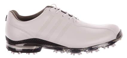 New Mens Golf Shoes Adidas Adipure TP Medium 9.5 White MSRP $250 Q44673