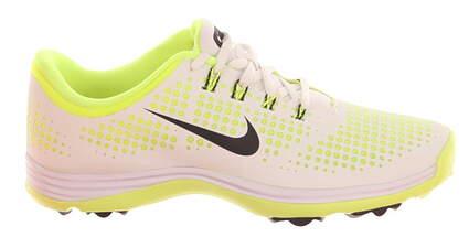 New Womens Golf Shoe Nike Lunar Empress 8.5 White/Volt MSRP $130