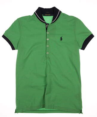 New Womens Ralph Lauren Golf Polo Small S Green MSRP $85