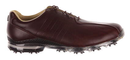 New Mens Golf Shoes Adidas Adipure TP Medium 10 Brown MSRP $250 Q44676