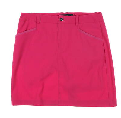 New Womens Ralph Lauren Golf Heritage Tech Skort Size 10 Pink MSRP $98